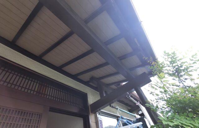 庇軒天井現状の画像